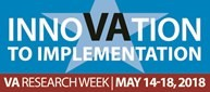 Logo for 2018 VA Research week